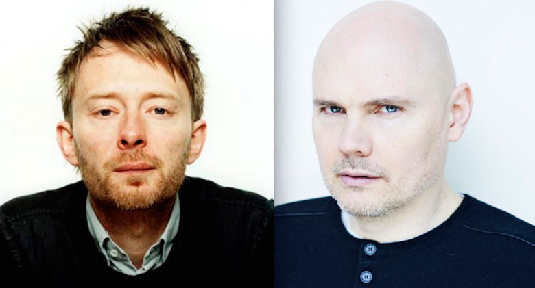 thom yorke e billy corgan